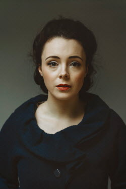 Shelley Richmond Young woman in black coat