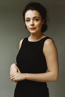 Shelley Richmond Young woman in black dress