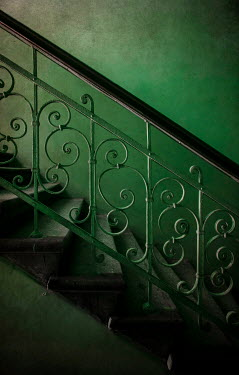 Jaroslaw Blaminsky DECORATIVE METAL AND STONE STAIRCASE Stairs/Steps