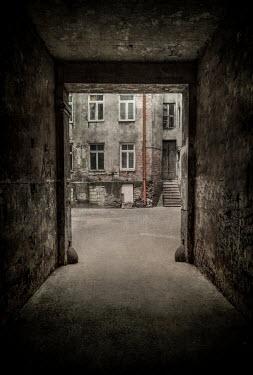 Jaroslaw Blaminsky Gate to courtyard
