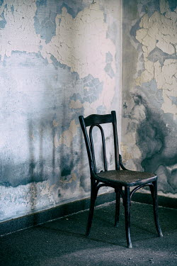 Mohamad Itani Chair in abandoned house