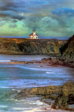 Jill Battaglia Cape Arago Lighthouse in Oregon