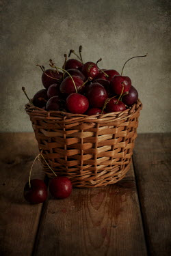 Jaroslaw Blaminsky Cherries in basket