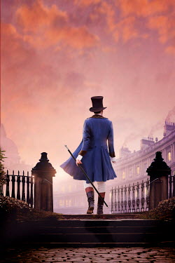 Lee Avison regency man at sunset in the city