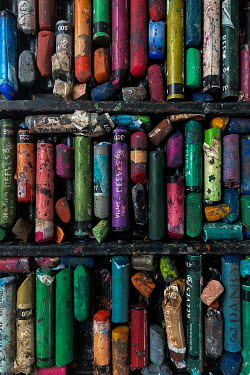 Maria Petkova BOX OF MULTICOLOURED CHALK PASTELS Miscellaneous Objects