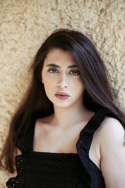 Mohamad Itani SAD MIDDLE EASTERN GIRL WITH LONG HAIR Women