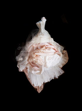Meg Cowell FLOATING PINK GOWN WITH BODICE Miscellaneous Objects