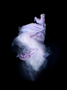 Meg Cowell FLOATING PURPLE BALLGOWN WITH SMOKE Miscellaneous Objects