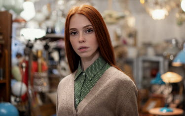 Maxim Guselnikov WOMAN WITH RED HAIR IN JUNK SHOP Women