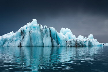 Evelina Kremsdorf ICEBERG REFLECTED IN WATER Snow/ Ice