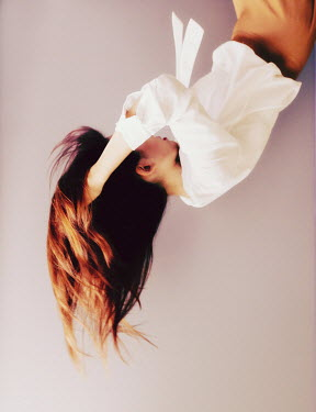 Jessica Lia UPSIDE DOWN WOMAN WITH LONG FLOWING HAIR Women