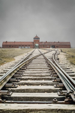 Joanna Czogala EMPTY RAILWAY LINES WITH CONCENTRATION CAMP Miscellaneous Buildings