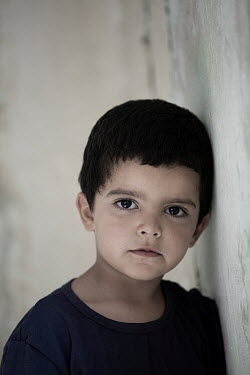Mohamad Itani SERIOUS LITTLE BOY WITH DARK HAIR Children