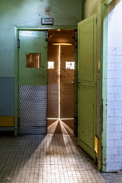 Elly De Vries DOORWAYS IN SHABBY BUILDING Interiors/Rooms