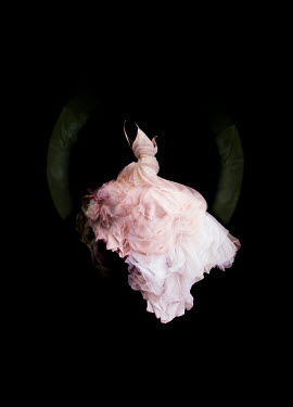 Meg Cowell FLOATING PINK SILKY GOWN Miscellaneous Objects