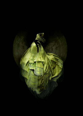 Meg Cowell FLOATING GREEEN BALL GOWN Miscellaneous Objects