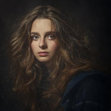 Dmytro Baev Portrait of young woman