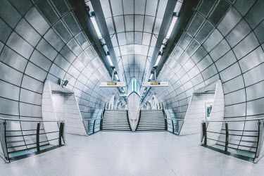 Evelina Kremsdorf London Tube. London, England, UK.