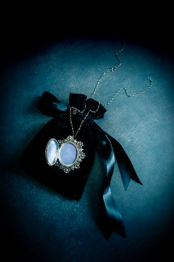 Jane Morley Locket and jewellery pouch