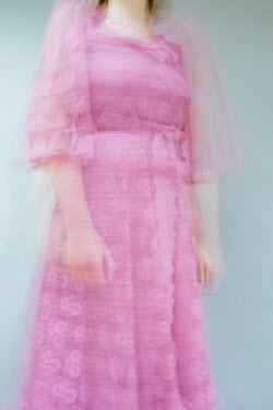Shelley Richmond BLURRED WOMAN IN PINK DRESS Women