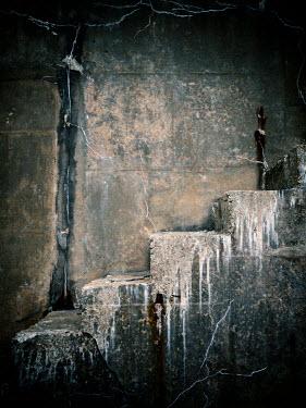 David Baker Weathered stone steps