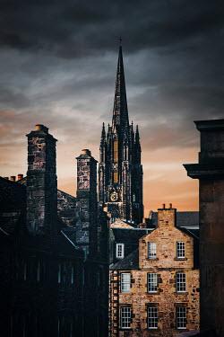 Evelina Kremsdorf Buildings in Edinburgh, Scotland, UK