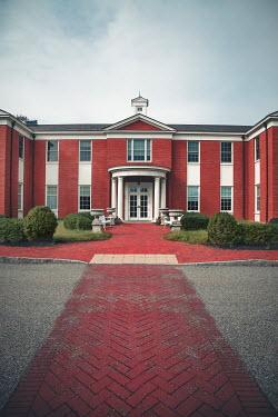 Evelina Kremsdorf Red brick mansion