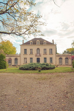 Elly De Vries Mansion with tree