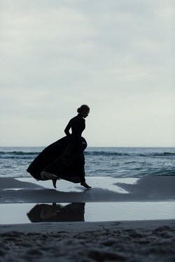 Magdalena Russocka victorian woman on beach