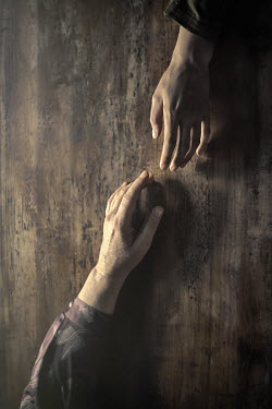 Natasza Fiedotjew Young and old hand reaching to each other