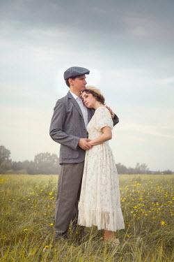 Joanna Czogala 1940s couple in field