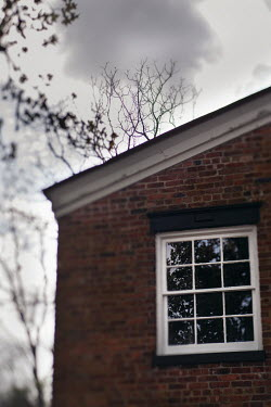 Lisa Bonowicz Window of brick house