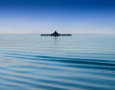 Adrian Leslie Campfield Pier in sea