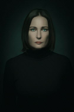 Ysbrand Cosijn Portrait of woman in shadow