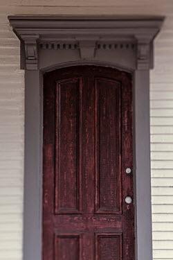 Lisa Bonowicz Wooden door of house