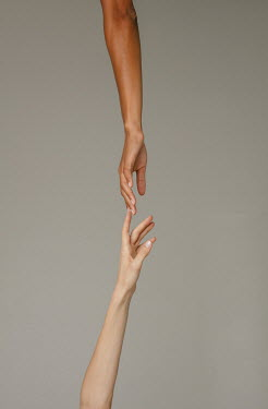 Nina Masic Hands of young women reaching