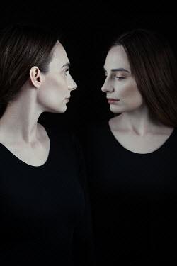 Magdalena Russocka two identical females inside