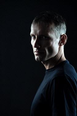 Magdalena Russocka modern man in shadow