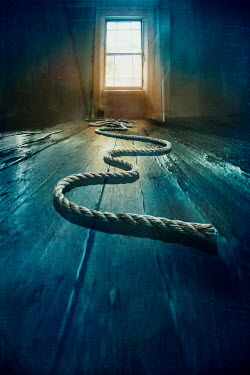 Silas Manhood ROPE ON FLOOR IN HOUSE BY WINDOW Miscellaneous Objects