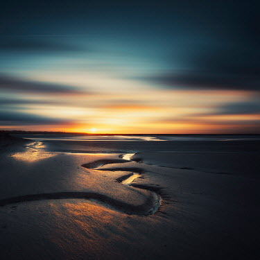 David Keochkerian Beach during sunset