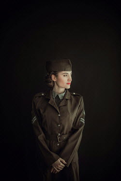 Ildiko Neer Wartime woman in uniform