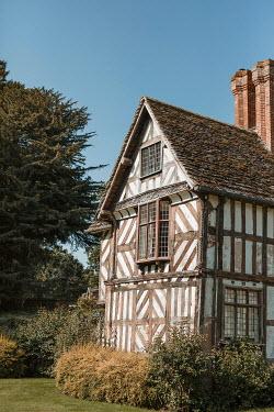 Shelley Richmond TUDOR HOUSE WITH GARDEN IN SUMMER Houses