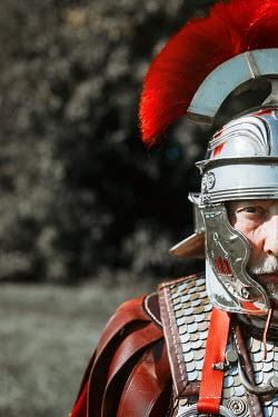 Shelley Richmond ROMAN SOLDIER IN UNIFORM OUTDOORS Men