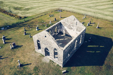 Isabelle Lafrance RUINED COUNTRY CHIRCH WITH GRAVEYARD Religious Buildings