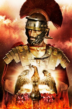 Nik Keevil ROMAN SOLDIER WITH GOLDEN EAGLE Men
