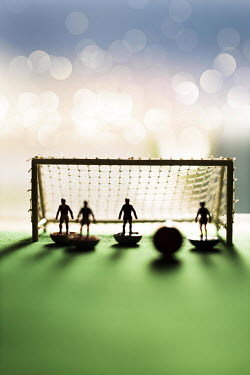Paolo Martinez TOY FOOTBALLERS WITH BALL AND GOAL Miscellaneous Objects