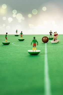 Paolo Martinez TOY FOOTBALLERS WITH BALL Miscellaneous Objects