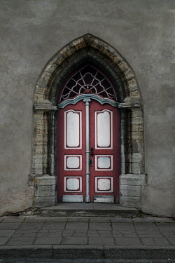 Jaroslaw Blaminsky EXTERIOR ORNATE DOOR WITH STONE ARCH Building Detail