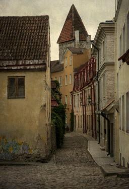 Jaroslaw Blaminsky EMPTY COBBLED STREET IN HISTORICAL TOWN Streets/Alleys