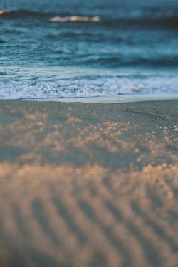 Lisa Bonowicz SANDY BEACH WITH WAVES AT DUSK Seascapes/Beaches